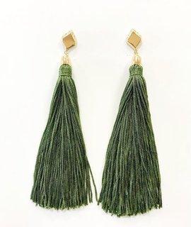 Ettika Mon Cheri Tassel Earrings