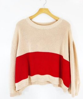 Knot Sisters Knot Sisters Stripe Sweater