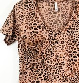 Knot Sisters Z Supply The Leopard Pocket Tee