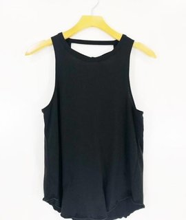 Chaser Brand Chaser Knotted Drape Back Tank