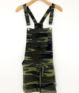 Z Supply Z Supply The Camo Short Overalls