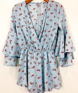 Audrey 3+1 Audrey 3+1 I Got The Blues Romper