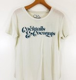 Chaser Brand Chaser Brand Vintage Jersey Everybody Tee - Cocktails & Coconuts