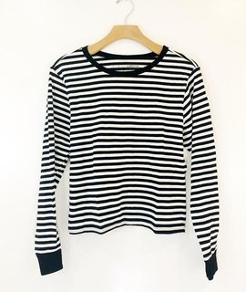 Amuse Society Amuse Society Honey Stripe Long Sleeve