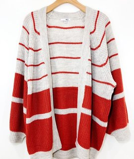 Amuse Society Amuse Society Get Down Striped Sweater