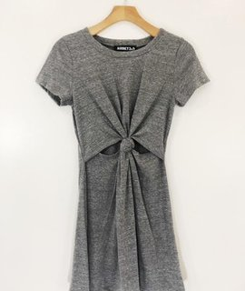 Audrey 3+1 Audrey 3+1 Knot Jersey Dress