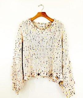 Lush Clothing Lush Pom Sweater