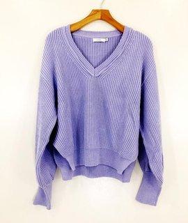 Lush Clothing Lush Lavendar Fields Sweater
