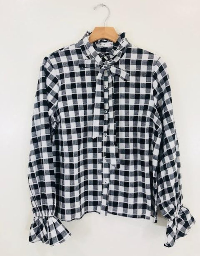 Lush Clothing Lush Sweet Home Alabama Button Up Flannel