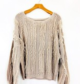 Chaser Brand Chaser Cropped Pullover Sweater