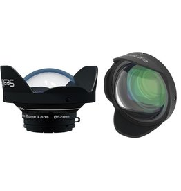 Sealife SEALIFE 0.5x Wide Angle Dome Lens (52mm threaded; includes SL977 52mm Thread Adapter)