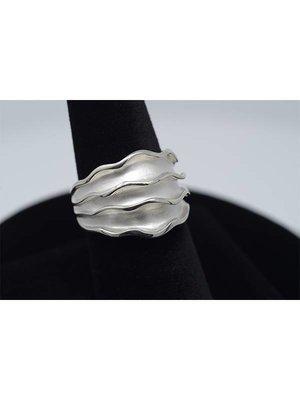Nautilus Jewelry NAUTILUS JEWELRY LAS CORRIENTES RING SILVER