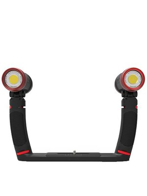 Sealife SEALIFE SEA DRAGON DUO 5000F SET (2 ea. 2500 COB LED light, 2 grips, dual tray, SL944 case)
