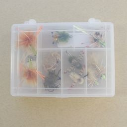 In House Permit Crab Fly Selection