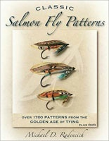 Anglers Books Classic Salmon Fly Patterns by Michael D. Radencich