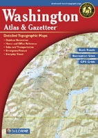 Anglers Books Washington Atlas and Gazetteer