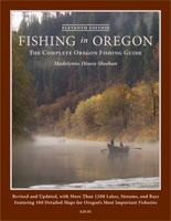 Anglers Books Fishing in Oregon by Madelynne Sheehan-11th edition