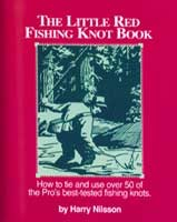 Anglers Books The Little Red Fishing Knot Book by Harry Nilsson