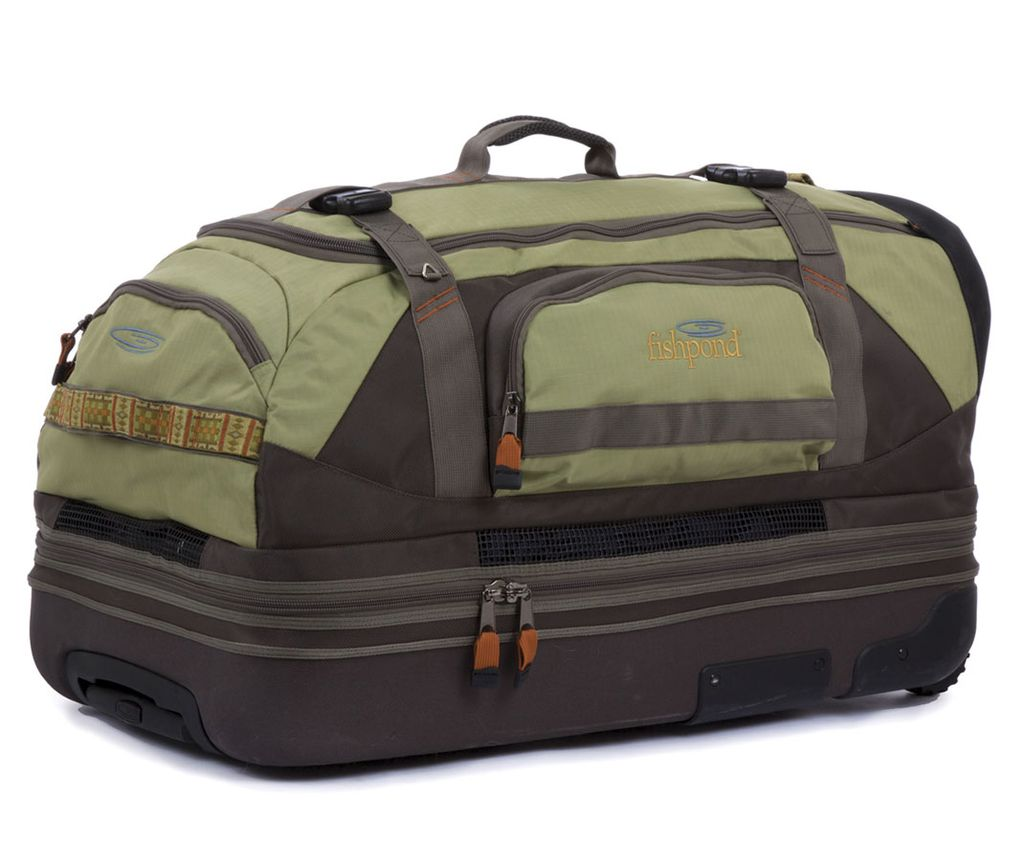 """Fishpond Fishpond Rodeo 31"""" Rolling Duffel"""
