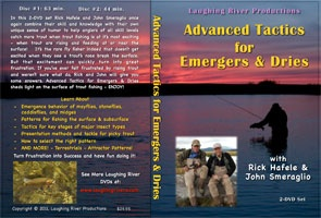 Anglers Books Advanced Tactics for Emergers & Dries with Rick Hafele and John Smeraglio