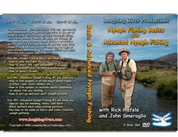 Anglers Books Nymph Fishing Basics plus Advanced Nymph Fishing  with Hafele & Smeraglio