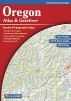 Anglers Books Delorme Oregon Atlas and Gazetteer