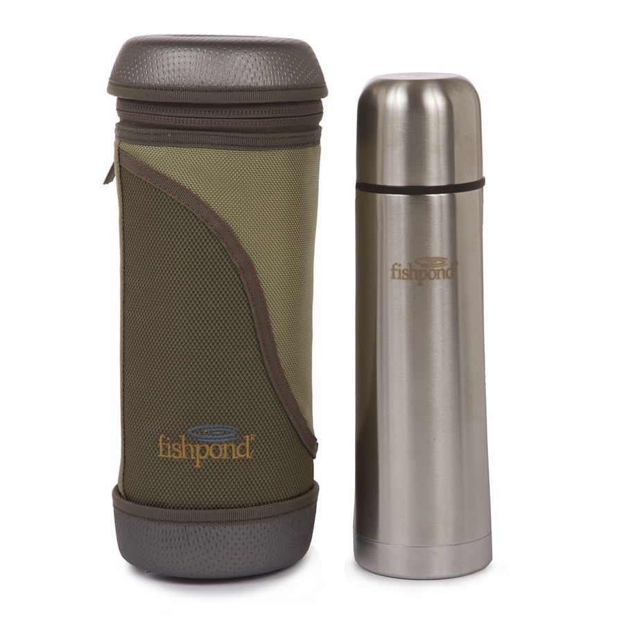 Fishpond Fish Pond Siver Creek Vacuum Flask with Insulated Carry Case