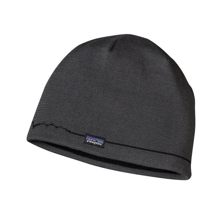 Patagonia Patagonia Beanie Hat, Fitz Roy Line, Forge Grey