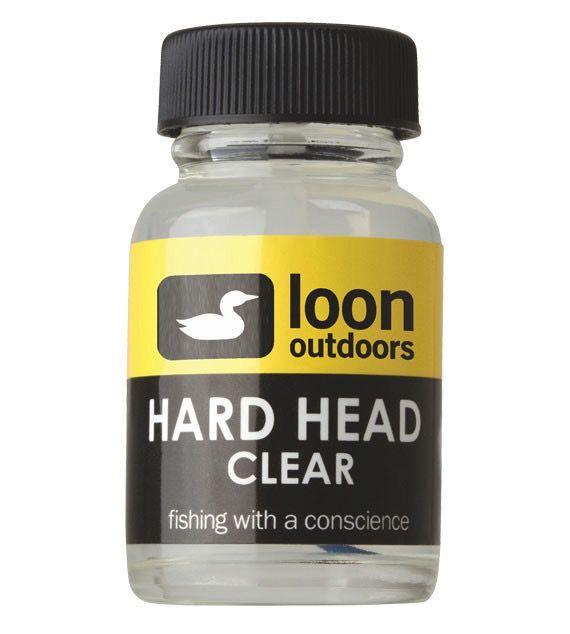 Hareline Loon Hard Head Cement Clear