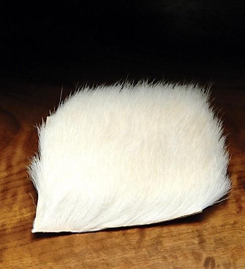 Hareline White Calf Body Hair