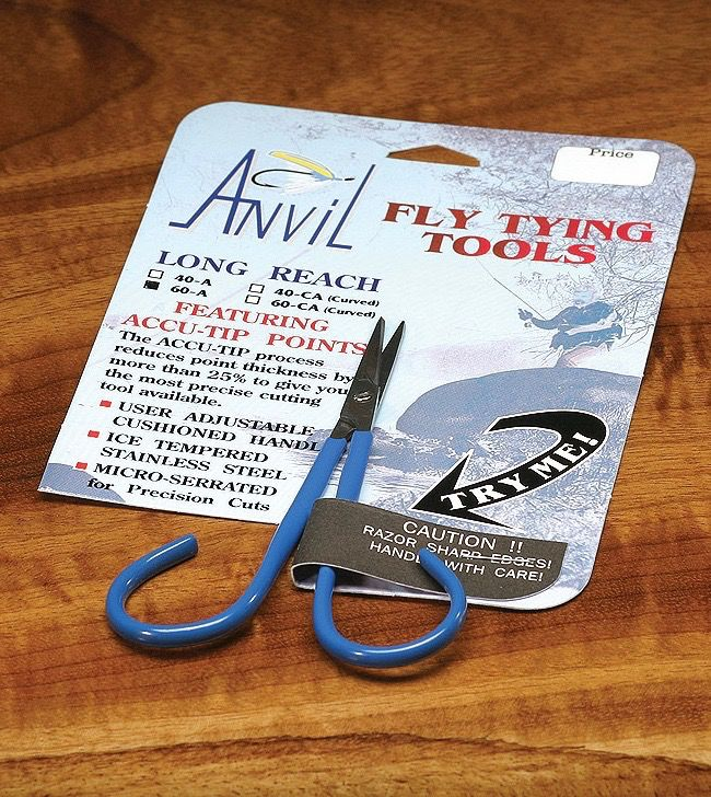 Hareline Anvil Straight Fine Point Scissor