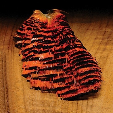 Hareline Golden Pheasant Tippets Natural