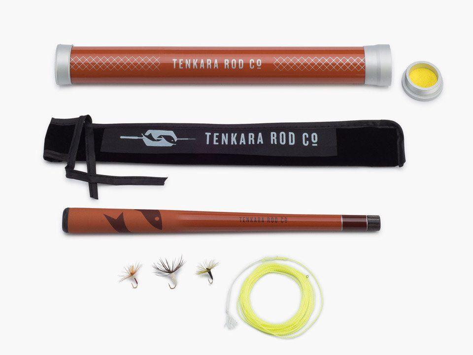 Tenkara Rod Co. Temkara Rod Co. Mini Sawtooth Package