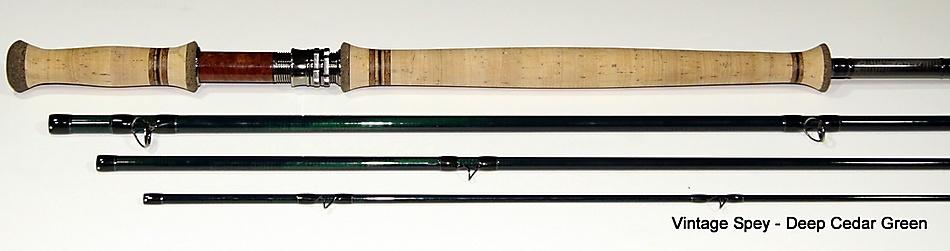 CF Burkheimer C.F. Burkheimer Spey Rod