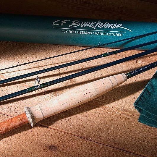 CF Burkheimer C.F. Burkheimer Trout Rod (Deep Action Load)