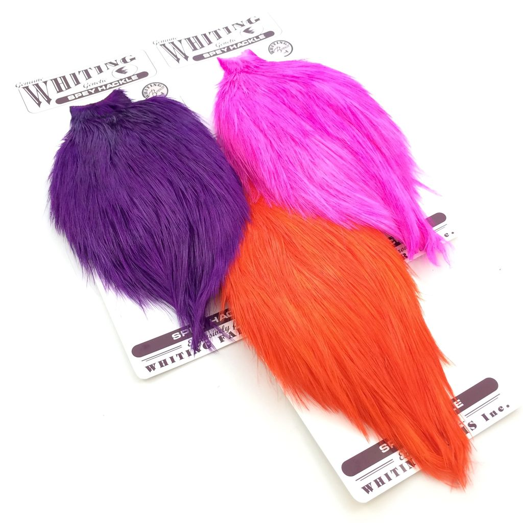 Whiting Farms Whiting Spey Rooster Bronze Cape