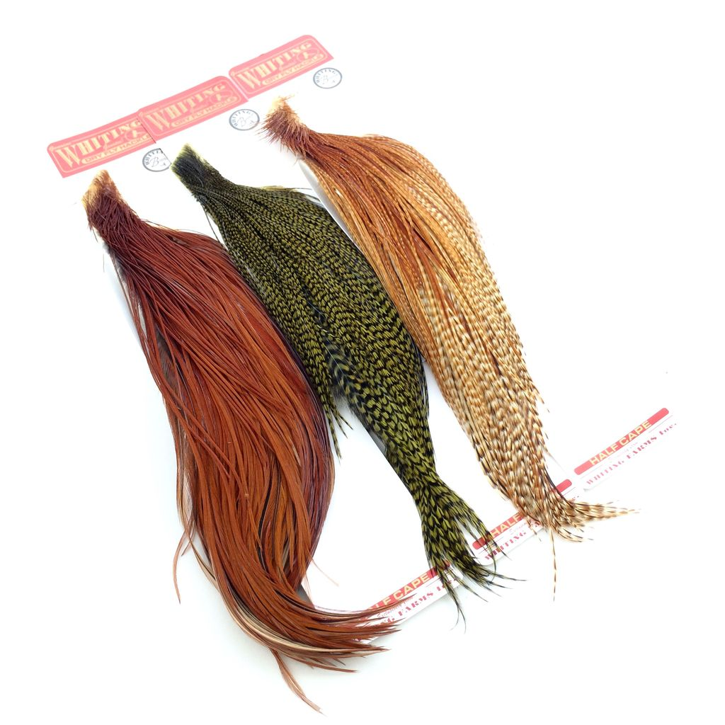 Whiting Farms Whiting Rooster Dry Fly 1/2 Bronze Cape