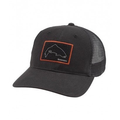 Simms Simms High Crown Patch Trucker Hat