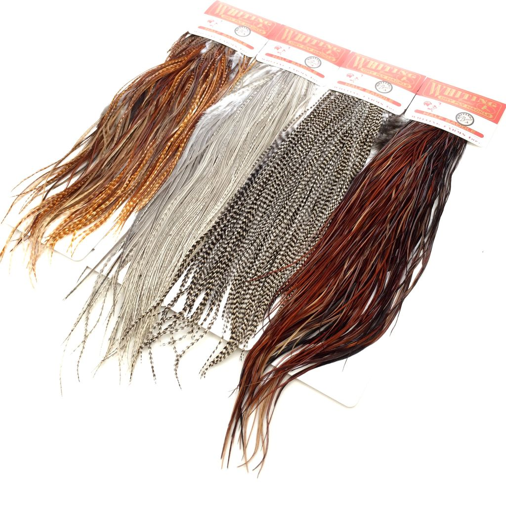 Whiting Farms Whiting Rooster Dry Fly 1/2 Saddle Bronze