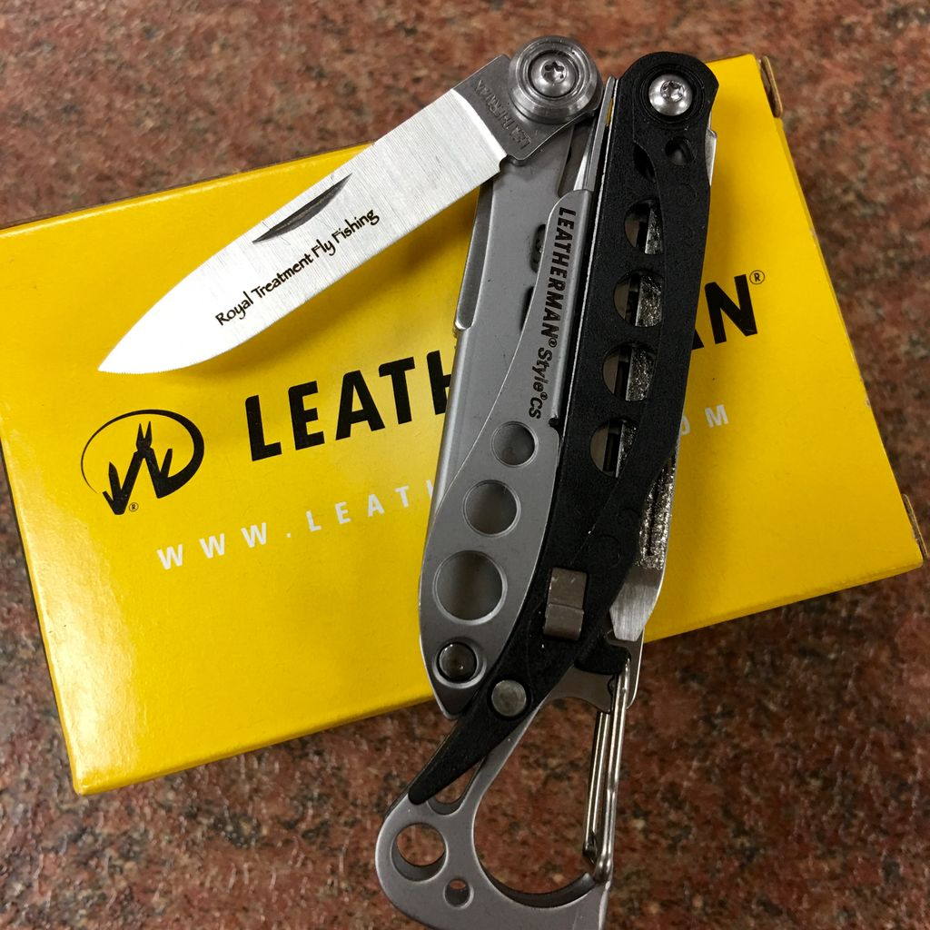 Leatherman Style CS Royal Treatment Logo Engraved