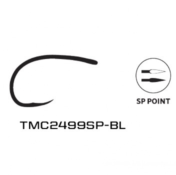 Umpqua Feather Merchants Tiemco 2499SP-BL Super Point Barbless Nymph Hook