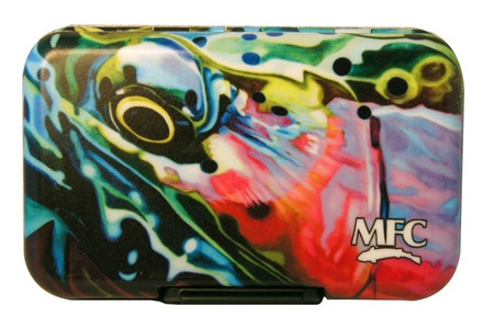 Montana Fly Co MFC River Camo Plastic Fly Box