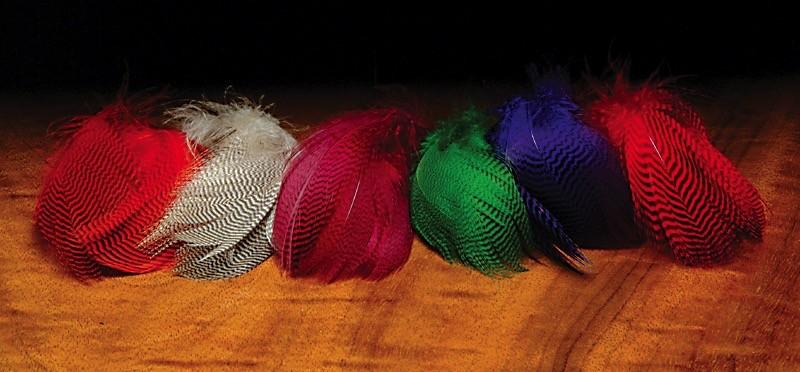 Hareline Teal Flank Feathers