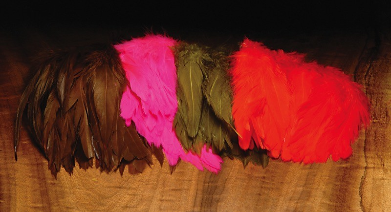 "Hareline Schlappen 5-7"" Feathers"