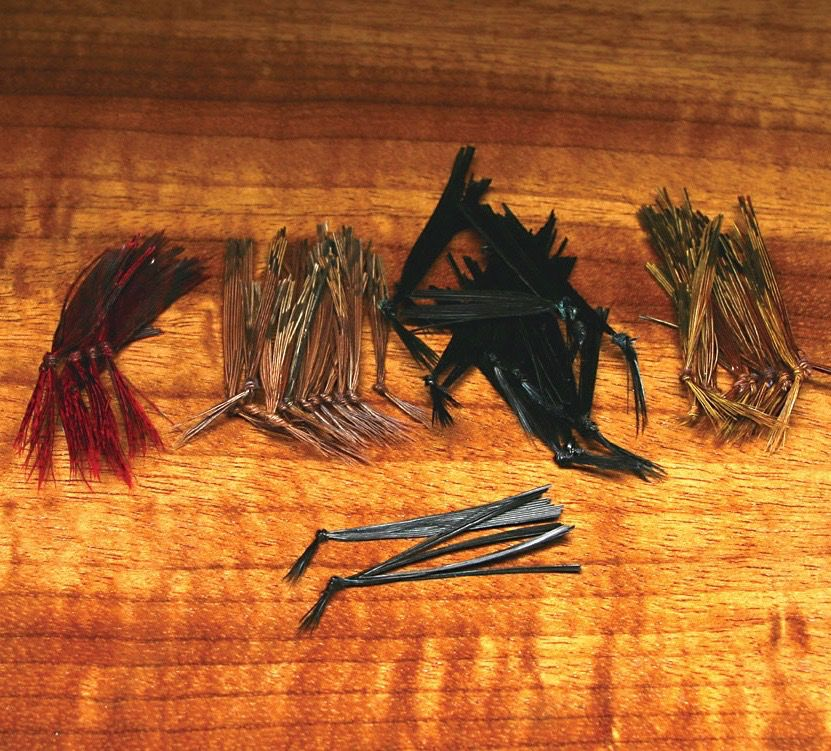 Hareline Knotted Hopper Legs