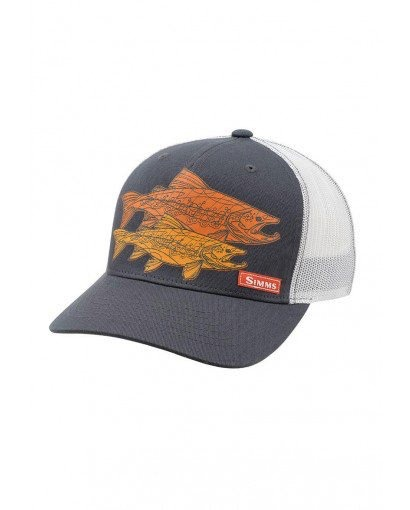 Simms Simms Five Panel Trucker Hat