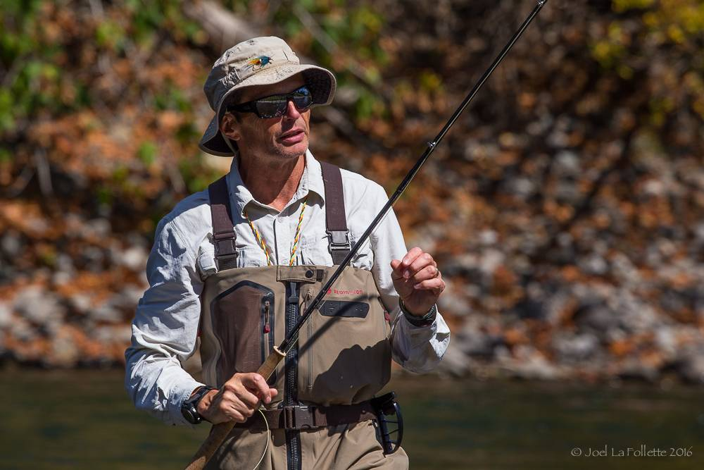 In House Simon Gawesworth Spey Casting Class