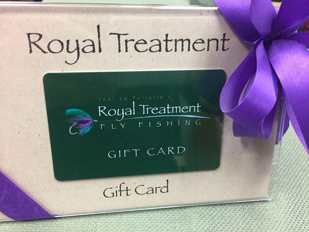 Gift Card Royal Treatment Gift Card