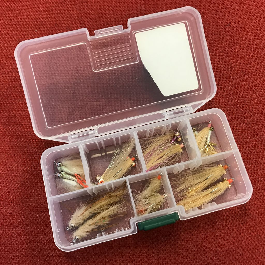 In House Christmas Island Bonefish Fly Selection