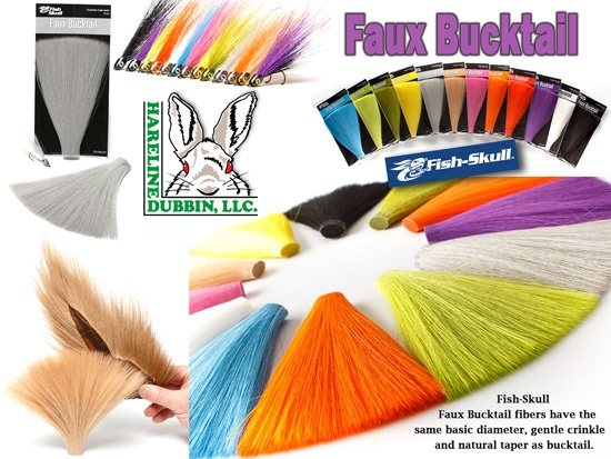 Hareline Faux Bucktail